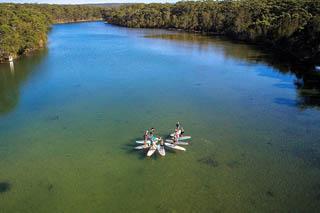 eco friendly sup tours