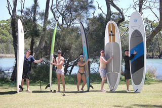 sup lessons and sup hire sussex inlet