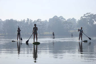 small group sup lessons sussex inlet