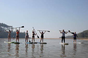sup lessons berrara small group